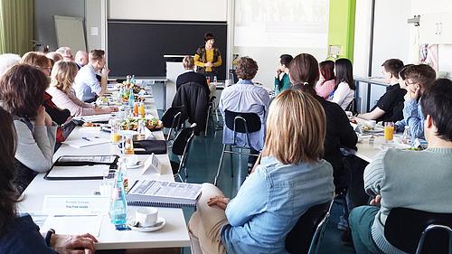 """""""IT-Sicherheitsmanagement in Unternehmen"""" als Thema des 4. IMS-Frühstücks an der Hochschule Zittau/Görlitz."""