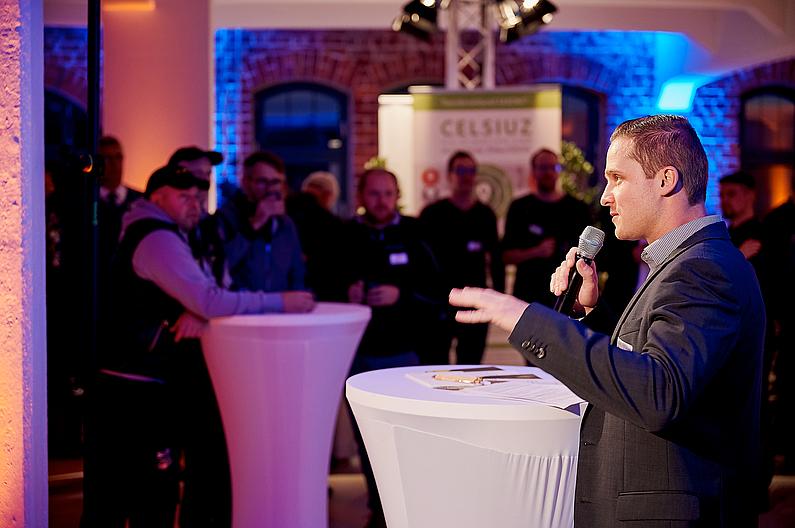 CELSIUZ-Verantwortlicher Dr. Clemens Schneider