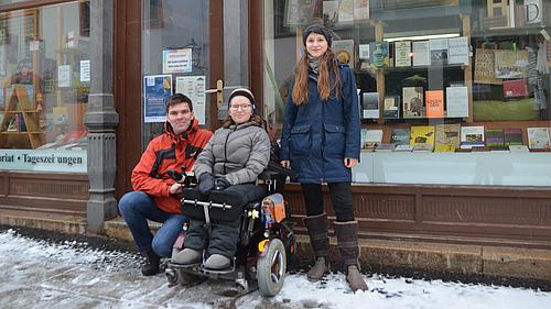 Projekt, damit sich Rollstuhlfahrer barrierefrei durch Görlitz bewegen können