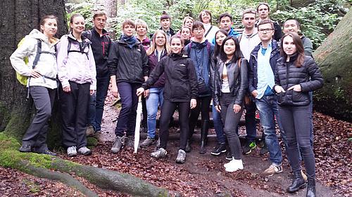 Studenten der Deutsch-Kasachischen Universität zum Studienpraktikum an der HSZG