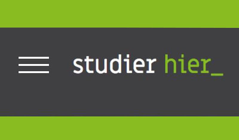 Neue Landing-Page der HSZG www.studier-hier.de
