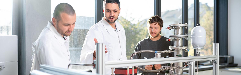 Mit dem Abschluss deines Master-Studiums Energietechnik an der Hochschule Zittau/Görlitz zählst du zu den wichtigen EnergiespezialistInnen von morgen.