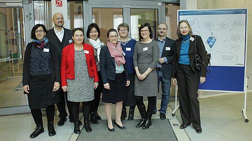 Gruppenbild des Dresdner Teams